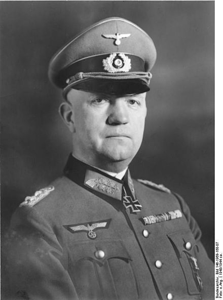 Friedrich Fromm (8 October 1888 – 12 March 1945) was a German army officer. He was also a recipient of the Knight's Cross of the Iron Cross.