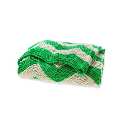 I'm seeing a collection of Chevron throws, in assorted colours. To whip out and rotate when I feel like a change! Chevron Throw in Emerald