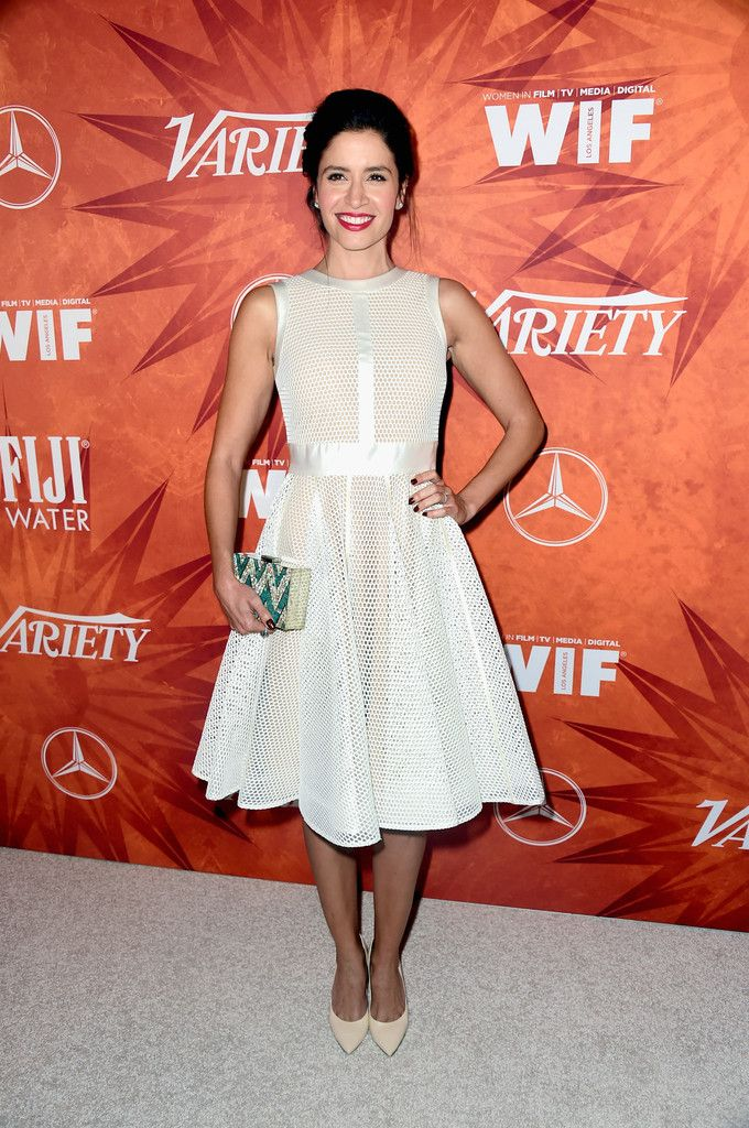 Mercedes Masohn in Arya Esha rings at Emmy 2015 Party