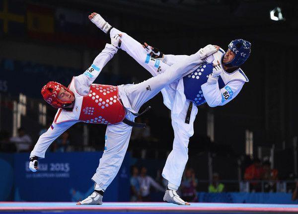 Ivan Konrad Trajkovic and Daniel Ros Gomez Photos - Taekwondo Day 7: Baku 2015 - 1st European Games - Zimbio