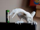 Compy dinosaur desktop figurine in White Strong & Flexible