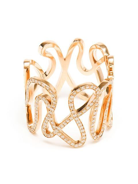 Repossi 18-karat Rose Gold And Diamond White Ring | FW 2014 | cynthia reccord