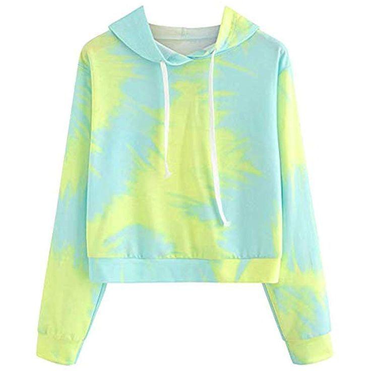 Aberimy Crop Pullover Damen Mädchen Teenager Crop Pullover …   – Auto und Mä…