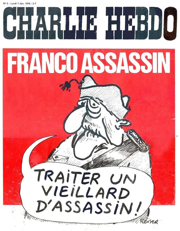 CHARLIE HEBDO 1970.