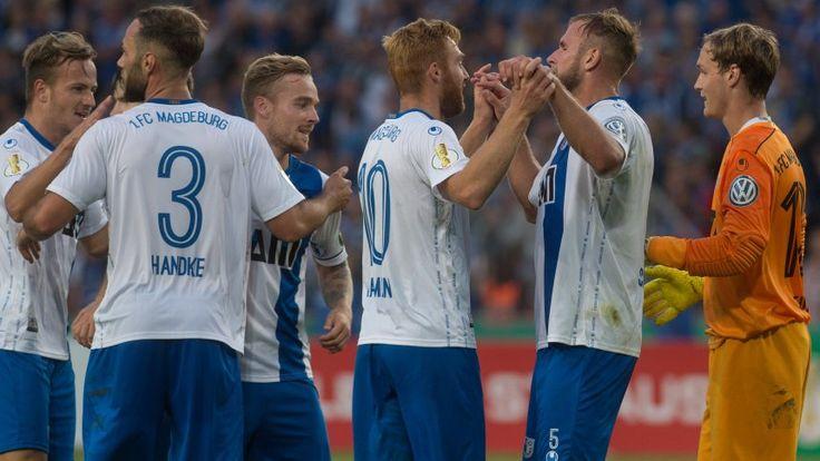 DFB-Pokal-1.Runde 17/18: Magdeburg (3.Liga) - Augsburg 2:0