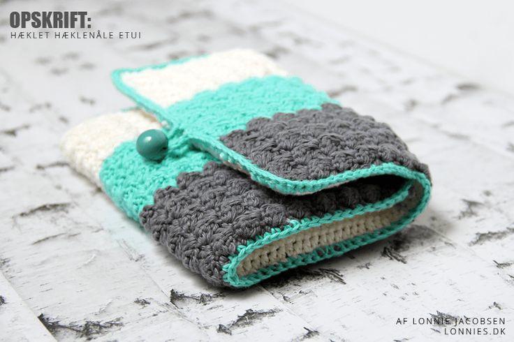crochet pattern crochet hook case hækle opskrift hæklenåle etui