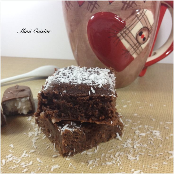Brownies au bounty recette companion retrouvez mes recettes companion cookeo thermomix md - Companion moulinex ou thermomix ...