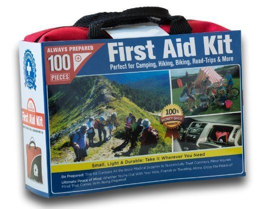 Small First Aid Kit 100 Piece: Car, Home, Survival #SmallFirst