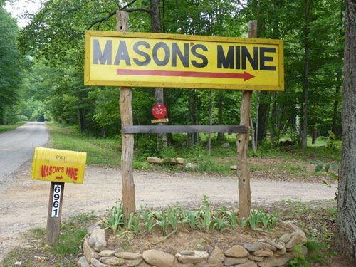 We usually take a yearly trip to go gem mining for sapphires and rubies.  We always go to Mason's Mine.  Lot's of fun and great people