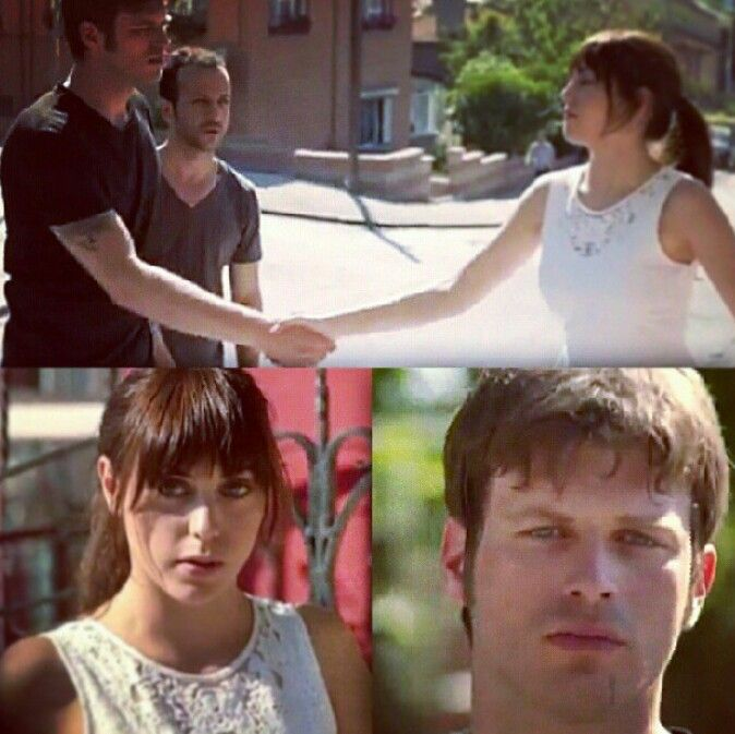 Kuzey & Cemre .. first time they met
