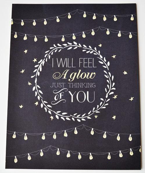 Frank Sinatra quote Wedding Print Chalkboard inspired 8.5 x 11