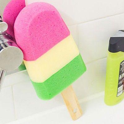 """Esponja de baño con forma de helado """"Splash Pops"""""""