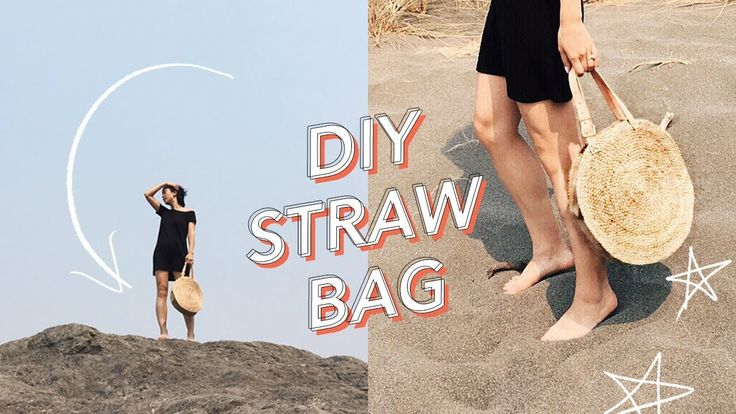 HOW TO MAKE A STRAW BAG | WITHWENDY