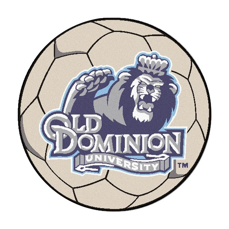 Ncaa Old Dominion University Cream (Ivory) 2 ft. 3 in. x 2 ft. 3 in. Round Accent Rug