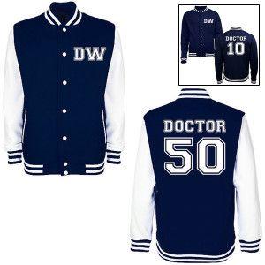 doctor who varsity jacket