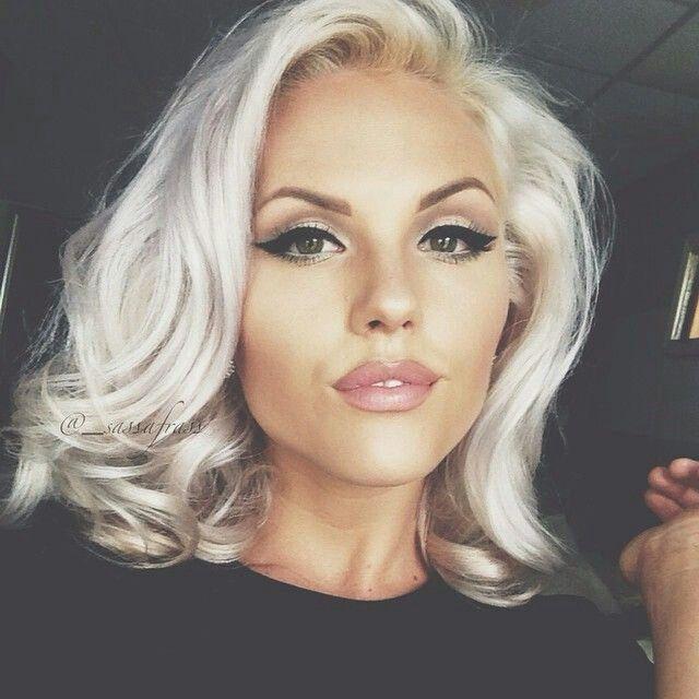 lob cut makeup