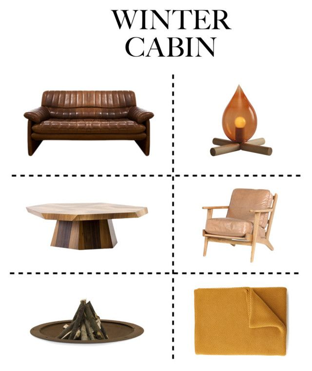 """""""When a fire starts to burn"""" by angelamarkovich on Polyvore featuring interior, interiors, interior design, home, home decor, interior decorating, Brooks, NKUKU, AK47 and cozycabin"""