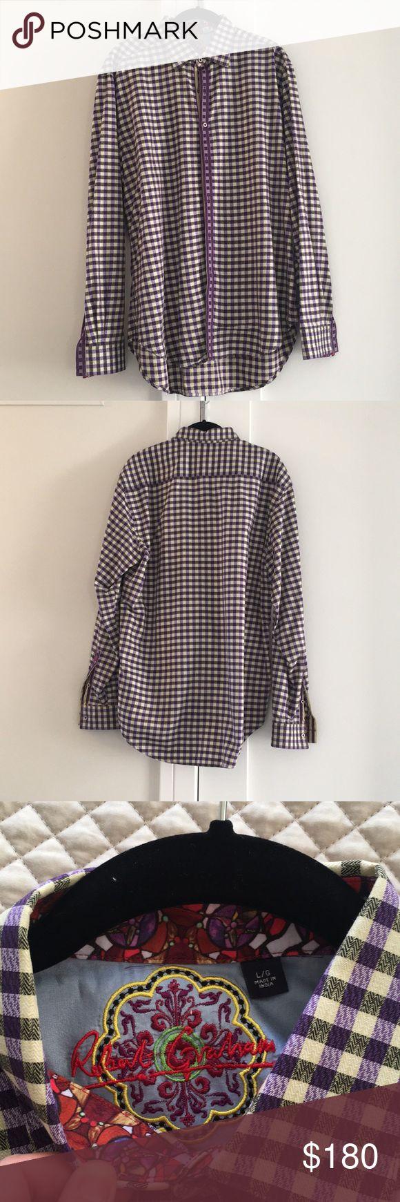 MEN's Robert Graham button up shirt Robert Graham button up shirt. Perfect condition. No pockets. Size Large. Robert Graham Shirts Casual Button Down Shirts