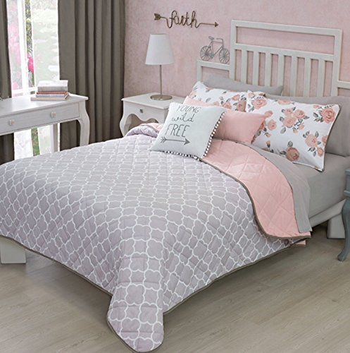 BEST+SELLER+BEAUTIFUL+FREE+TEENS+GIRLS+REVERSIBLE+COMFORTER+