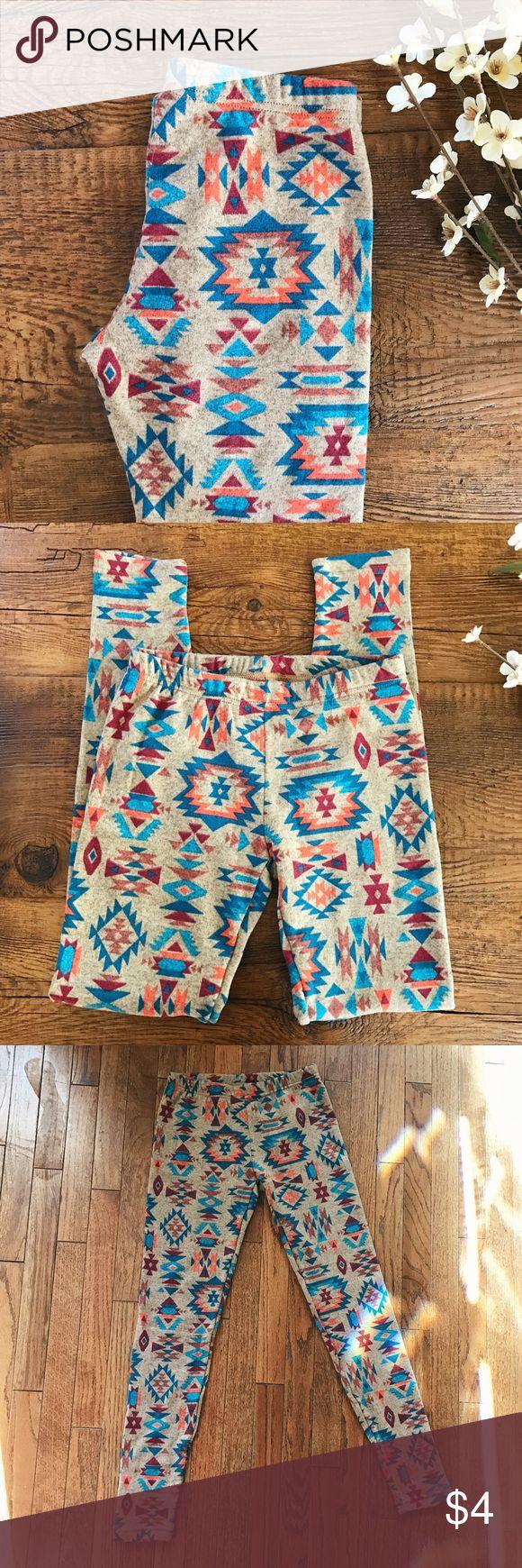 No Boundaries Tribal Print Legging No Boundaries Tribal Print Legging. New With tags, never worn. They are a size medium (7-9),95% polyester, 5% spandex. No Boundaries Pants Leggings