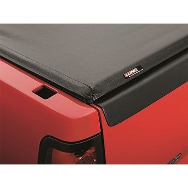 Lund 96079 Genesis Roll-Up Tonneau Cover - black leather look