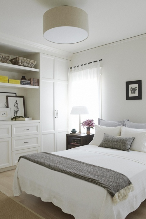 Romancing the Bedroom: organizing the bedroom