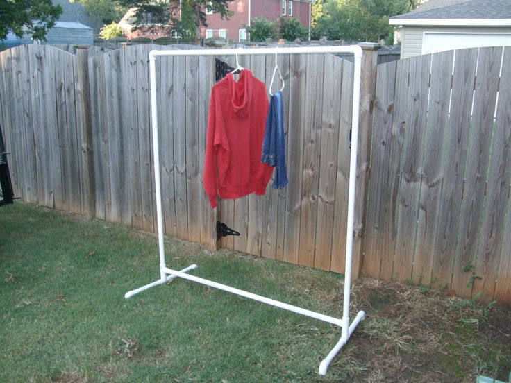 clothes rack ideas for garage sale - 17 Best images about Garage Sale on Pinterest