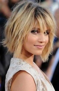 Surprising 1000 Ideas About Messy Bob Hairstyles On Pinterest Messy Bob Hairstyle Inspiration Daily Dogsangcom