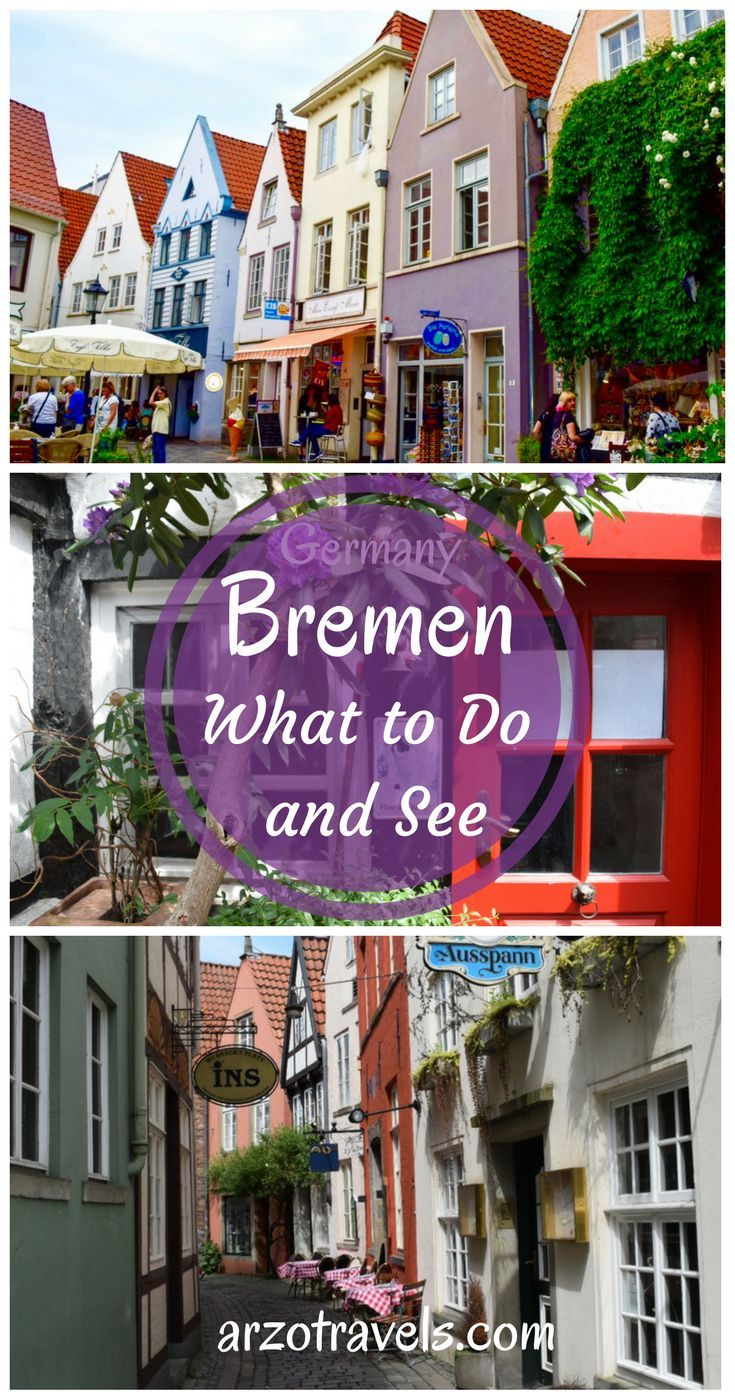 Germany. Where to eat, sleep, shop, and things to do in Bremen.