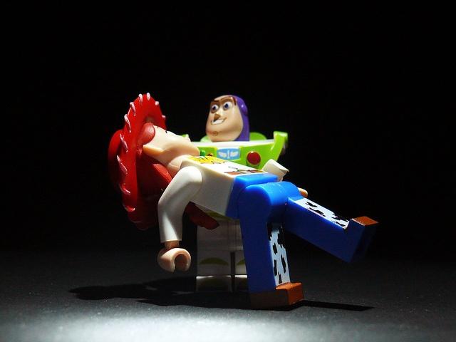 Lego Buzz and Jessie