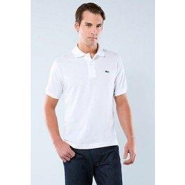Men Polo Shirt, White Color