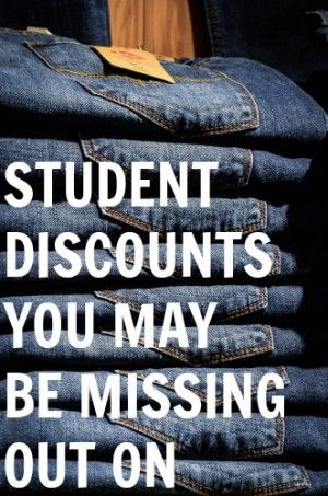 Student Discounts You May Be Missing Out On