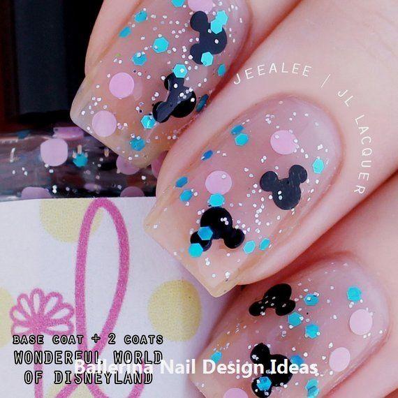 trendy ballerina nail art 2019