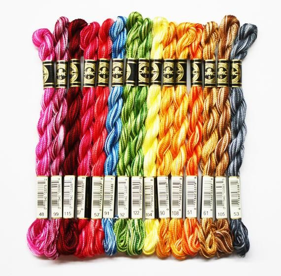 DMC Cotton Perle Thread Size 5 per pack of 2