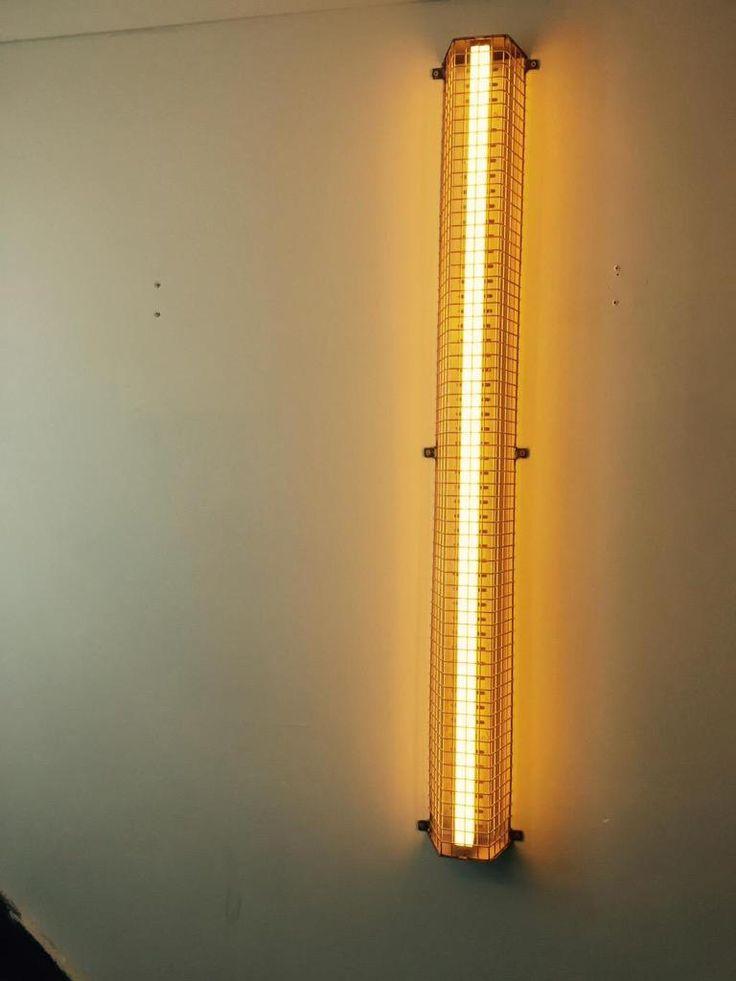 LED cage wall light #Bespokelighting @S_Moth