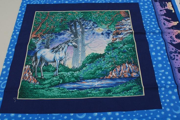 unicorn fabric   Unicorn Fabric Panel   andi   Pinterest