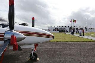 Pregopontocom Tudo: Governo da Bahia reinaugura Aeródromo em em Canavieiras
