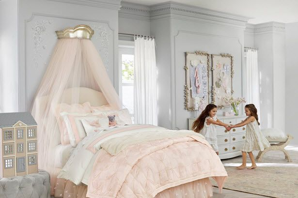 Monique Lhuillier has collaborated with Pottery Barn Kids