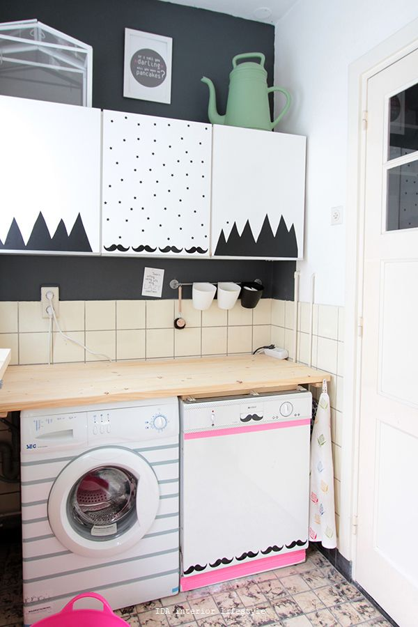 Laundry room makeover IDA interior lifestyle