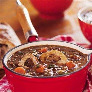 """As my ma dié sop gemaak het, het ek geweet die winter is nou hier."""" Lewer 6-8 porsies Bereiding:..."""