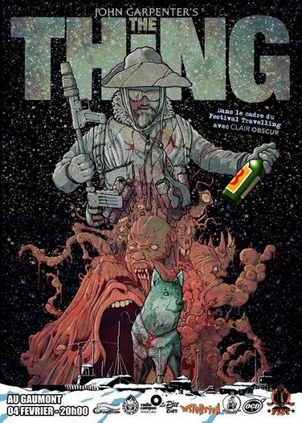 Le Fist présente THE THING de John Carpenter (Travelling Oslo), Rennes, agenda, sorties, spectacles, concerts, expos, FIST, travelling