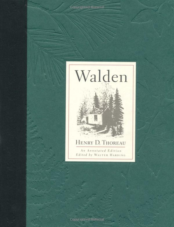 an analysis of walden a book by henry david thoreau Henry david thoreau lived for two years, two months, and two days by walden pond in concord, massachusetts his time in walden woods.