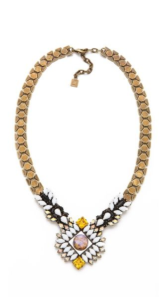 DANNIJO Geneva Necklace | selected by jamesdrygoods.com for the made in america: contemporary project | #madeinusa |