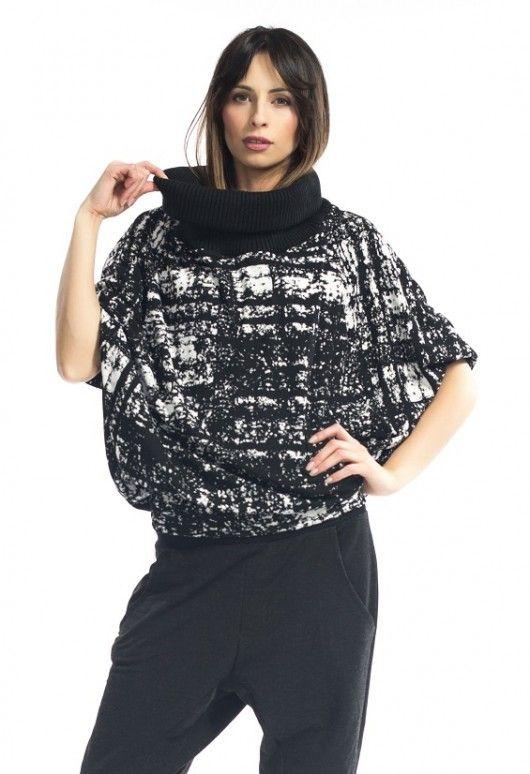 bluzki - kimonowe-Sweter Cahlo Fiu Fiu OPIUM