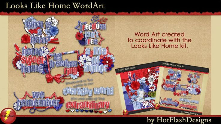 Looks Like Home WordArt