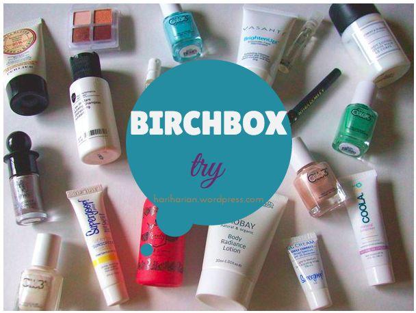 birchbox beauty subscription makeup skincare natural nails hair