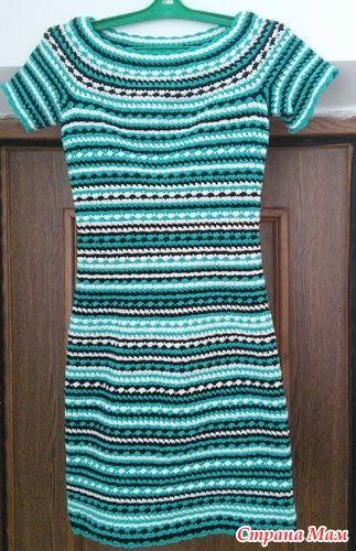 Начинаем вязать это платье, опроса не было, но было обсуждение здесь http://www.stranamam.ru/ так что если есть желание присоединяйтесь