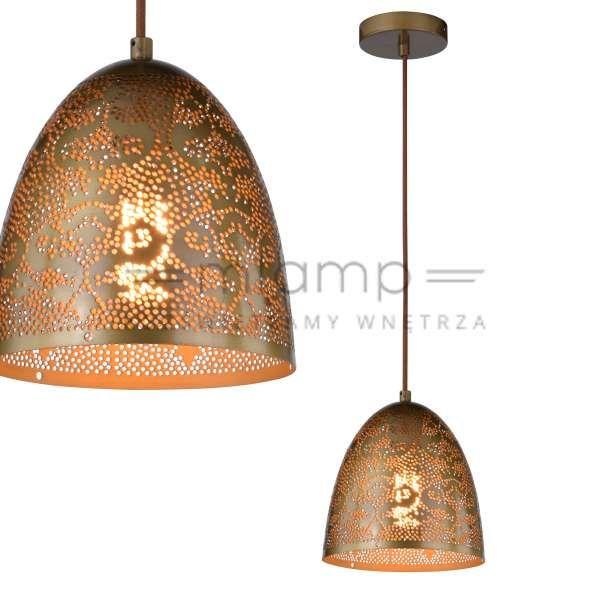LAMPA wisząca SFINKS 31-43306 Candellux orientalna OPRAWA metalowa marokański ZWIS ażurowy IP20 patyna #lampawiszaca #szklanelampy #wystrojwnetrz #nowoczesneoswietlenie #pokojdzienny #salon #modernlighting #modernstyle #crystal #interior #interiorlighting #interiordesign #homedesign #homedecor #rozswietlamywnetrza #mlamp