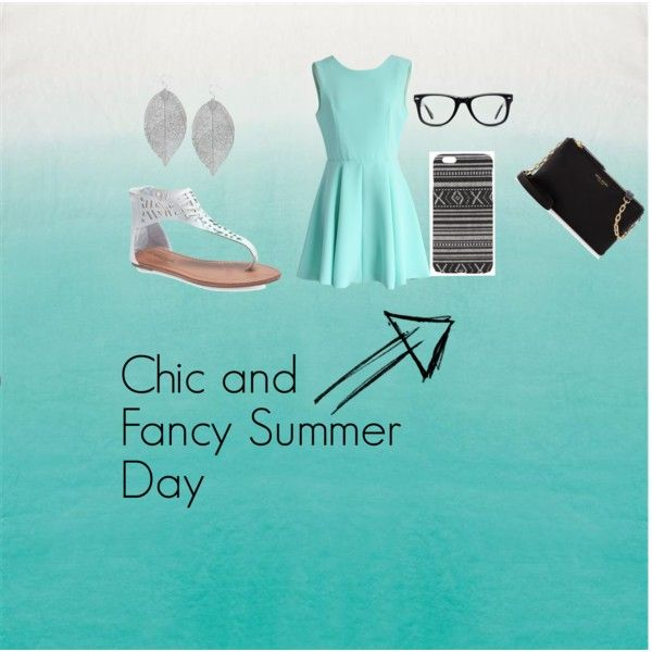 Chic Summer Day Outfit by lgmay on Polyvore featuring Chicwish, Wet Seal, Henri Bendel, Humble Chic, Muse, With Love From CA and Summer