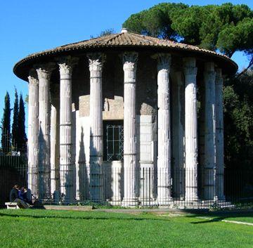 Wk 4: The round temple in the Forum Boarium